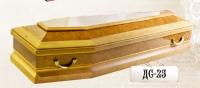 Деревянный гроб шестигранник ДС-25