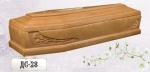 Элитный деревянный гроб шестигранник ДС-28