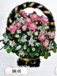 Элитная корзина из цветов ЭК-01