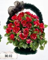 Элитная корзина из цветов ЭК-02