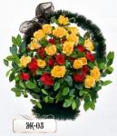 Элитная корзина из цветов ЭК-05