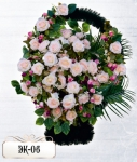 Элитная корзина из цветов ЭК-06