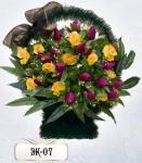 Элитная корзина из цветов ЭК-07