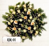 Ритуальная композиция из цветов КЖ-01
