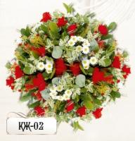 Ритуальная композиция из цветов КЖ-02