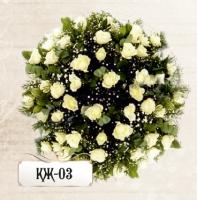 Ритуальная композиция из цветов КЖ-03
