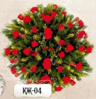 Ритуальная композиция из цветов КЖ-04