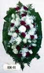 Ритуальный венок из цветов ВЖ-01