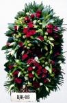 Ритуальный венок из цветов ВЖ-05