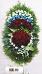 Ритуальный венок из цветов ВЖ-09