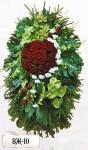 Ритуальный венок из цветов ВЖ-10